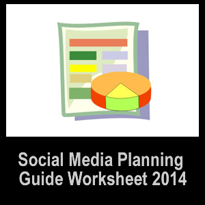Social Media Planning Worksheet 2012 by Lisa Peyton